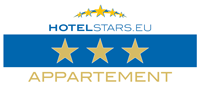 Hotelstars 3 Stern Appartement